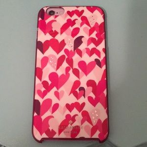 NWOT Kate Spade New York Hearts Phone Case